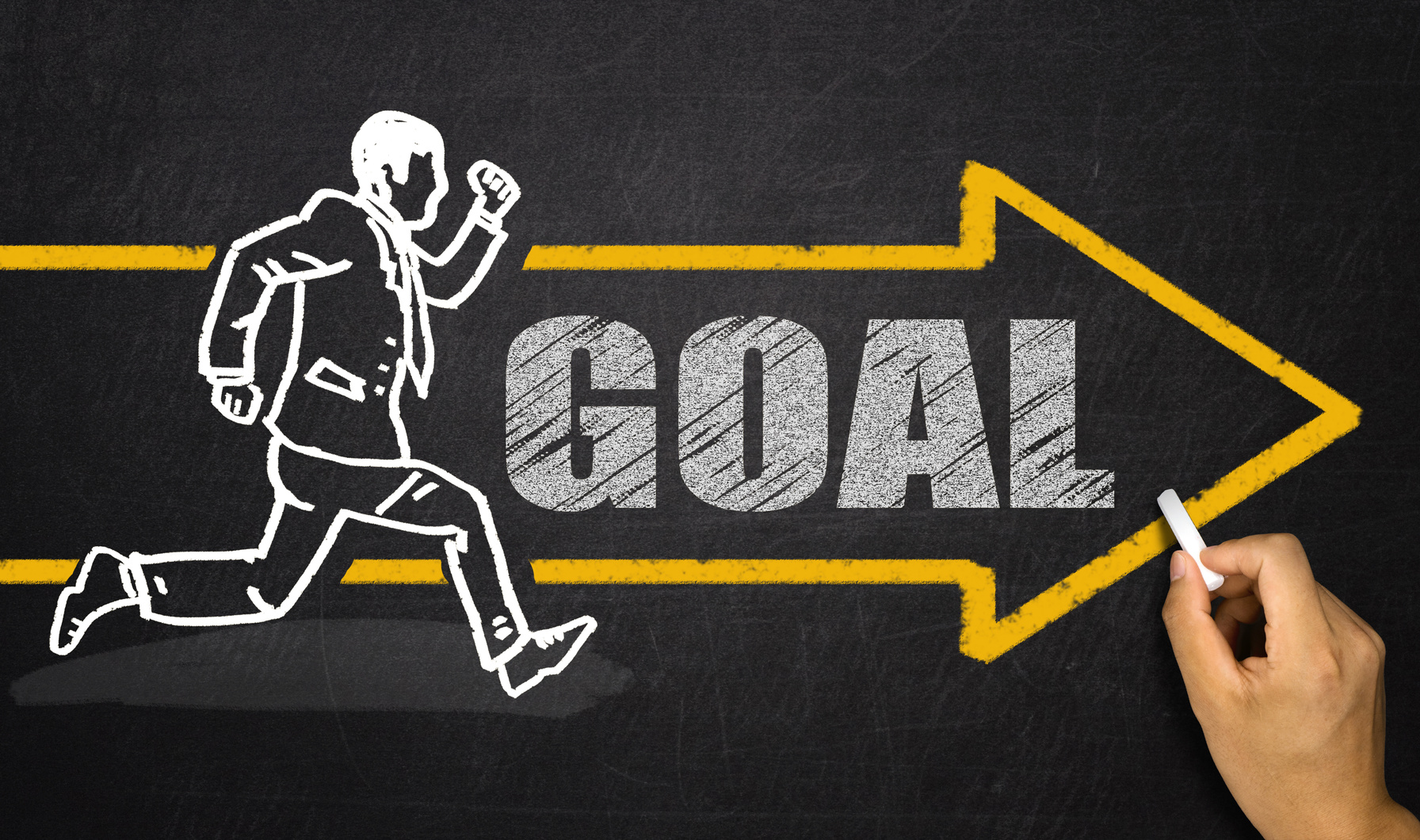 running businessman;goal concept