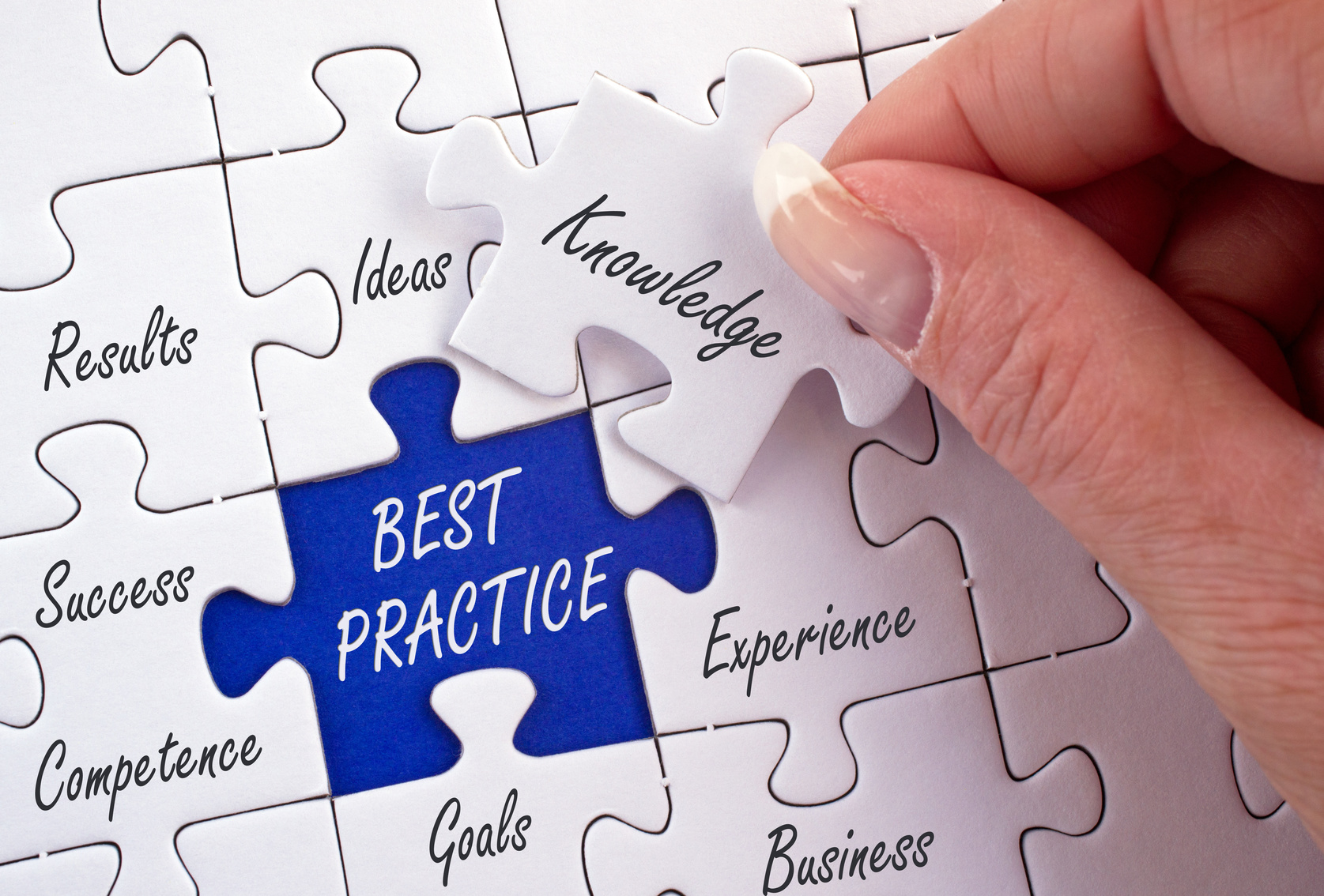 Best Practice Business Concept